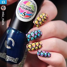 Instagram media by nailpromote - #Repost @miu_nails