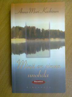 Minä en sinua unohda, Kirjapaja, 2001