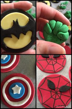 Super hero toppers