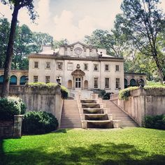 View of the Atlanta History Center's spectacular 1920s Swan House