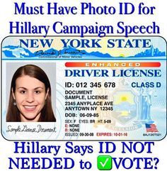 Voter ID Laws Protect the Integrity of the Ballot Box! TIME TO DEMAND ID!