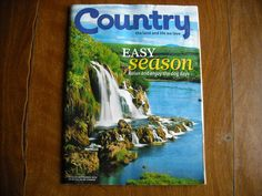 Country - the Land and Life We Love Easy Season August / September 2011 Vol. 24 No. 4 - for sale at Wenzel Thrifty Nickel ecrater store