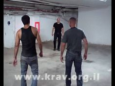 self defense Krav Maga Full Contact 2009 - YouTube