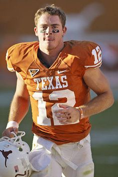 college football - one of my many loves - especially the texas longhorns + colt mccoy (hook 'em horns)