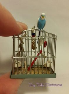 Home Page, Tiny Tails Miniatures, Birds, Animals, Butterflies