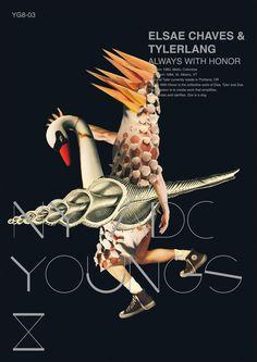 Visual Idntity of ADC Young Guns 8 by ken-tsai lee, via Behance