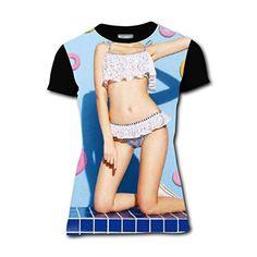 cc2582baad Bikini Girl Short Sleeve Womens 3D Print TShirt Tees Girls Round Blouse S    Click for Special Deals