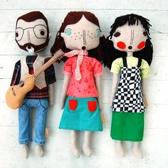 By SilpliJessi :) super cute little dolls