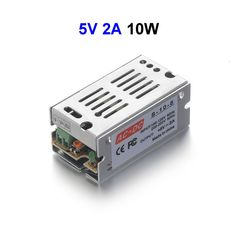 DC5V 2A 10W Switching Power Supply Adapter Driver Transformer For 5050 5730 5630 3528 LED Rigid Strip Light