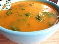 Receitas de sopas: Sopa de legumes com agriões Soup Recipes, Cooking Recipes, Healthy Recipes, Portuguese Recipes, Soup And Salad, No Cook Meals, I Foods, Carne, Love Food