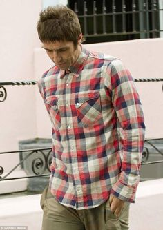 Liam Gallagher - today in London