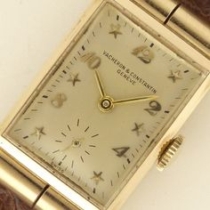 VACHERON&CONSTANTIN RECTANGLE MODEL 1940's 14KPG cal. 453/3C 2016.8.9.