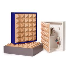 Pyramid Key Box designed by Henrik Ilfeldt for Korridor Small Apartments, Small Spaces, Venice House, Key Cabinet, Key Box, Box Design, Home Decor Items, Gift Guide, Finding Yourself