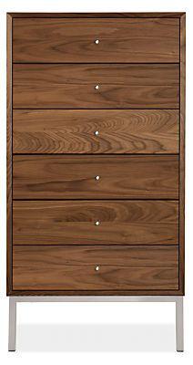 Delano Wood Dressers - Modern Dressers - Modern Bedroom Furniture - Room & Board