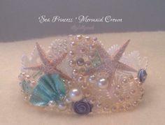 Sea princess mermaid crown party under the sea birthday photography prop