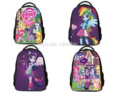 New Fashion Cartoon Backpacks for Teenagers Girls My Little Pony Backpack Kids School Bags Cute Boy Pony Horse Bag Child Mochila