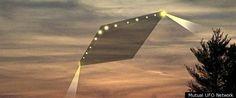 2012年4月5日カリフォルニア:ダイアモンド形 UFO - 海外の妖しい Blog 記事から