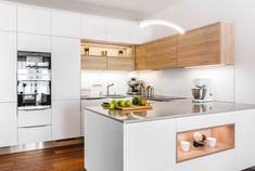 Kitchen Room Design, Modern Kitchen Design, Interior Design Kitchen, Kitchen Stories, Home Kitchens, Sweet Home, New Homes, Kitchen Cabinets, House Design