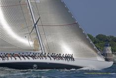 Velsheda J Class Sailing Yacht
