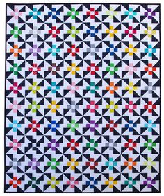 Pinwheels and Daisies Quilt Pattern