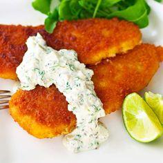 Gluten Free Recipes, Keto Recipes, Cooking Recipes, Tandoori Chicken, Salmon Burgers, Tapas, Goodies, Food And Drink, Fish