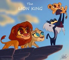 The Lion King by David Gilson