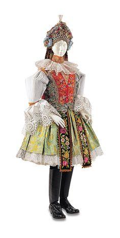 女性用衣装 チェコ 1970年   Woman's costume  Czech 1970