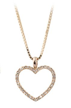 Diamond heart in red gold! Thune