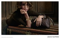 its TVC caught my attention for it took 28 Days Later's theme as background music :) L'Invitation au Voyage @Louis Vuitton