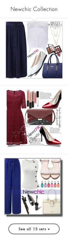 """Newchic Collection"" by adelisa56 ❤ liked on Polyvore featuring SHAN, men's fashion, menswear, Christian Dior, Marc Jacobs, Smashbox, NYX, Deborah Lippmann, Bobbi Brown Cosmetics and Maybelline"