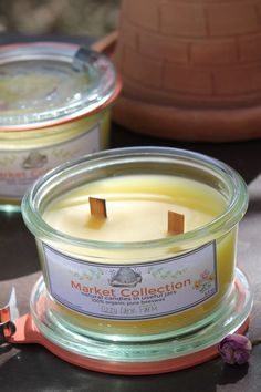 Blending the bounty of the kitchen garden & scents into premium candles inspired by a simpler time… It used to be most families had a garden just outside the kitchen and a pantry full of their harve