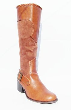 BN DOLCIS GIRLS WOMENS FAUX SUEDE TAN KNEE LENGTH  ZIP UP RIDING BOOTS UK 3 - 8  Gorgeous winter boots,now on sale!