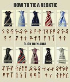 For those of you men who are either clueless or don't have someone like me to tie a proper Windsor knot. Cool Tie Knots, Tie A Necktie, Necktie Knots, Tie Styles, Mode Masculine, Men Style Tips, Suit And Tie, Mens Suits, Mens Fashion