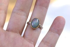 Opal 925 Sterling Silver Ring 18k Gold Bezel Filigree Band   Etsy Gold And Silver Rings, Sterling Silver Rings, Golden Ring, Engagement Jewelry, Promise Rings, Filigree, Band Rings, Jewelry Gifts, 18k Gold