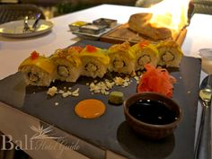 take japanese menu incredible for your dinner, Japanese Sushi Maki. traditional japanese food..!  Click on the link to find our more about great restaurants on the island.  http://www.balihotelguide.com/blog/category/food-in-bali/ #food #japanese #menu #goodfood #resttaurant #bali