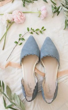 18 Must-have Chic Spring Wedding Shoes to Stand You Out! 18 Must-have Chic Spring Wedding Shoes to Stand You Out! & blue suede pointed toe flats The post 18 Must-have Chic Spring Wedding Shoes to Stand You Out! & *shoes* appeared first on Shoes . Women's Shoes, Me Too Shoes, Shoe Boots, Flat Shoes, Flat Wedding Shoes, Platform Shoes, Light Blue Wedding Shoes, Blue Wedding Heels, Bridesmaid Shoes Flat