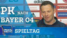 Pk nach Bayer 04 - Dardai - Schmidt - Bundesliga - Hertha BSC - Berlin - 2016 #hahohe