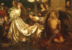"""Eleanor Fortescue-Brickdale (1872-1945), """"The Uninvited Guest"""" by sofi01, via Flickr"""