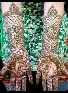 henna mehndi desi indian pakistani wedding dulhan bride