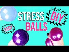 DIY Crafts: How To Make A Squishy Stress Ball - Easy & Cool DIY Project - YouTube