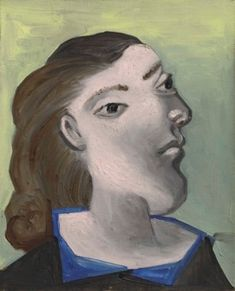 View Tête de femme (Dora Maar) By Pablo Picasso; oil on canvas; Access more artwork lots and estimated & realized auction prices on MutualArt. Pablo Picasso, Picasso Art, Picasso Paintings, Dora Maar, Spanish Painters, Spanish Artists, Pierre Bonnard, Pierre Auguste Renoir, Cubist Artists
