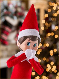 What to do if your scout elf is accidentally touched! | Elf on the Shelf Ideas