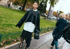 The Best Fashion Week Street Style: New York, London, Milan, and Paris Spring 2016 Ready-to-Wear - Vogue