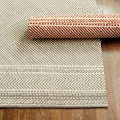 Beckett Hooked Chevron Rug/ Ballard Designs  $699  8x10' rug
