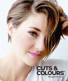 Short Hair met langere lok naar voren | Zorgt voor een nonchalante valling van het haar