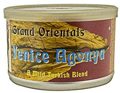 Vintage Pipe Tobacco McClelland Venice Agonya 2010 Virginia & Orientals.