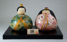 Usaburo Kokeshi Japanese Wooden Doll 4-31 Heian Set (Hina Ningyo Dolls) 185 €