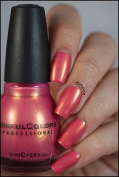 Sinful Colors - Sharon's Heart #nails #swatch #sinfulcolors