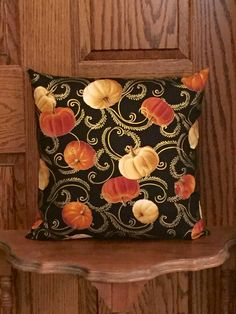 A personal favorite from my Etsy shop https://www.etsy.com/listing/465182664/decorative-pillow-pumpkin-pillow-fall