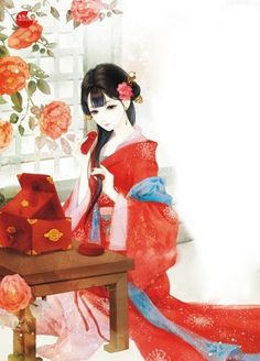 ❧妖司魊瀙—百里桃夭采集到红尘隐度(5183图)_花瓣